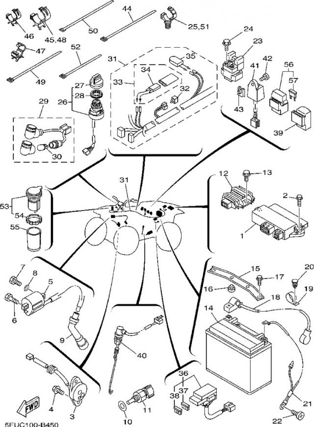 Yamaha Big Bear 400 Wiring Diagram 34 Wiring Diagram Images