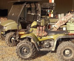 2004 Late 2004 Sportsman 500 Fan runs with ignition off
