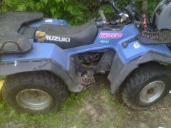 Suzuki King Quad 300 Running Problems - Suzuki ATV Forum - QUADCRAZY