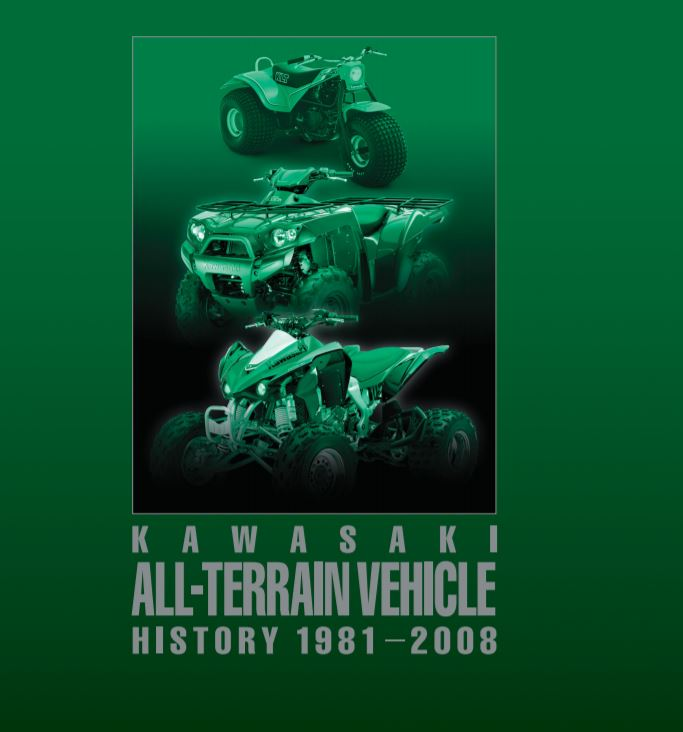 Kawasaki All-Terrain Vehicle History 1981-2008