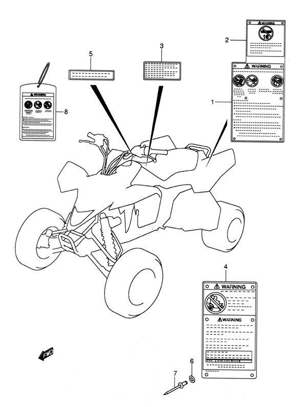 2006 Suzuki LT-R450K6 Service Manual