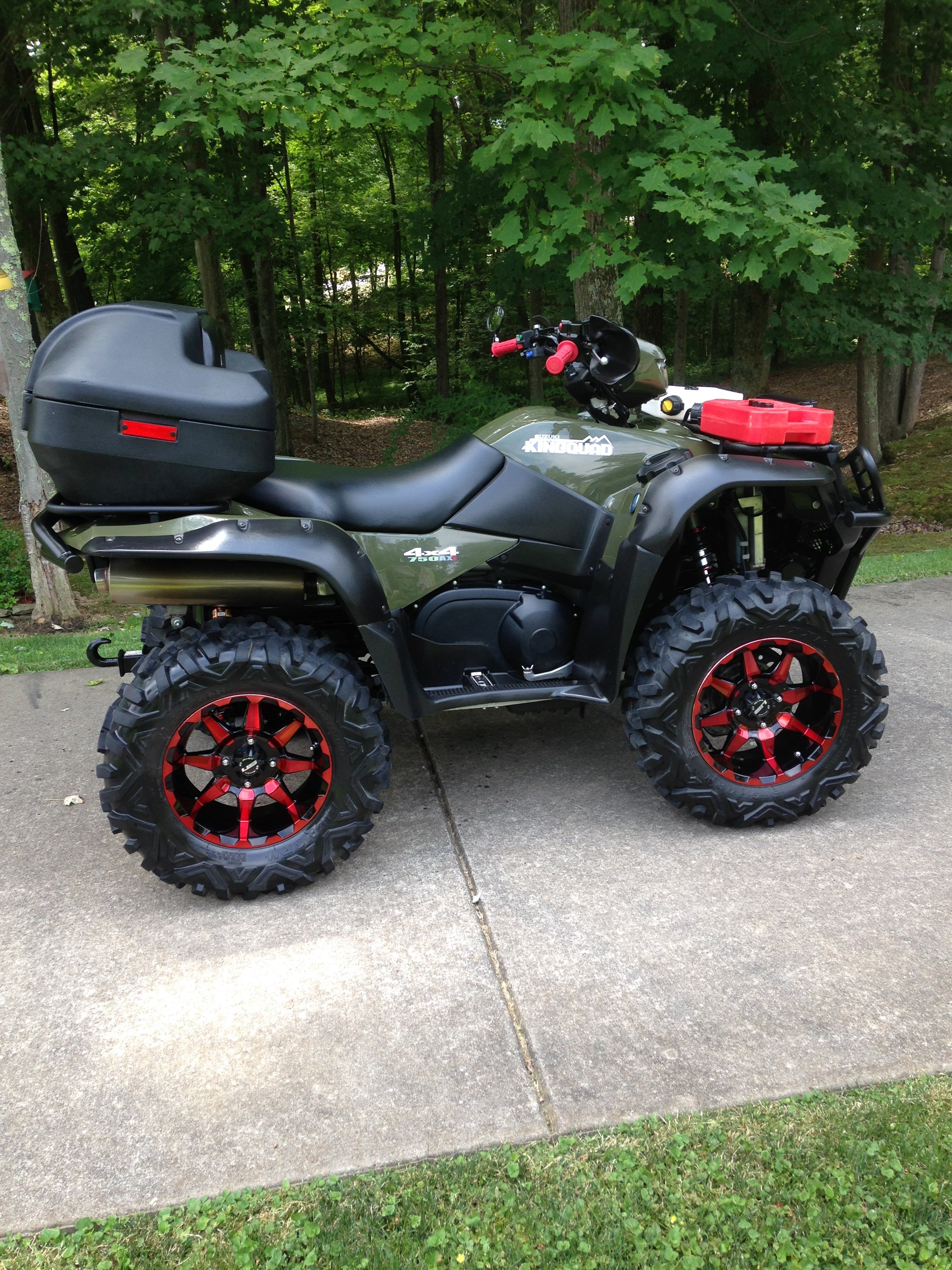 2014 king quad 750 irs Powersteering - Suzuki ATV Forum