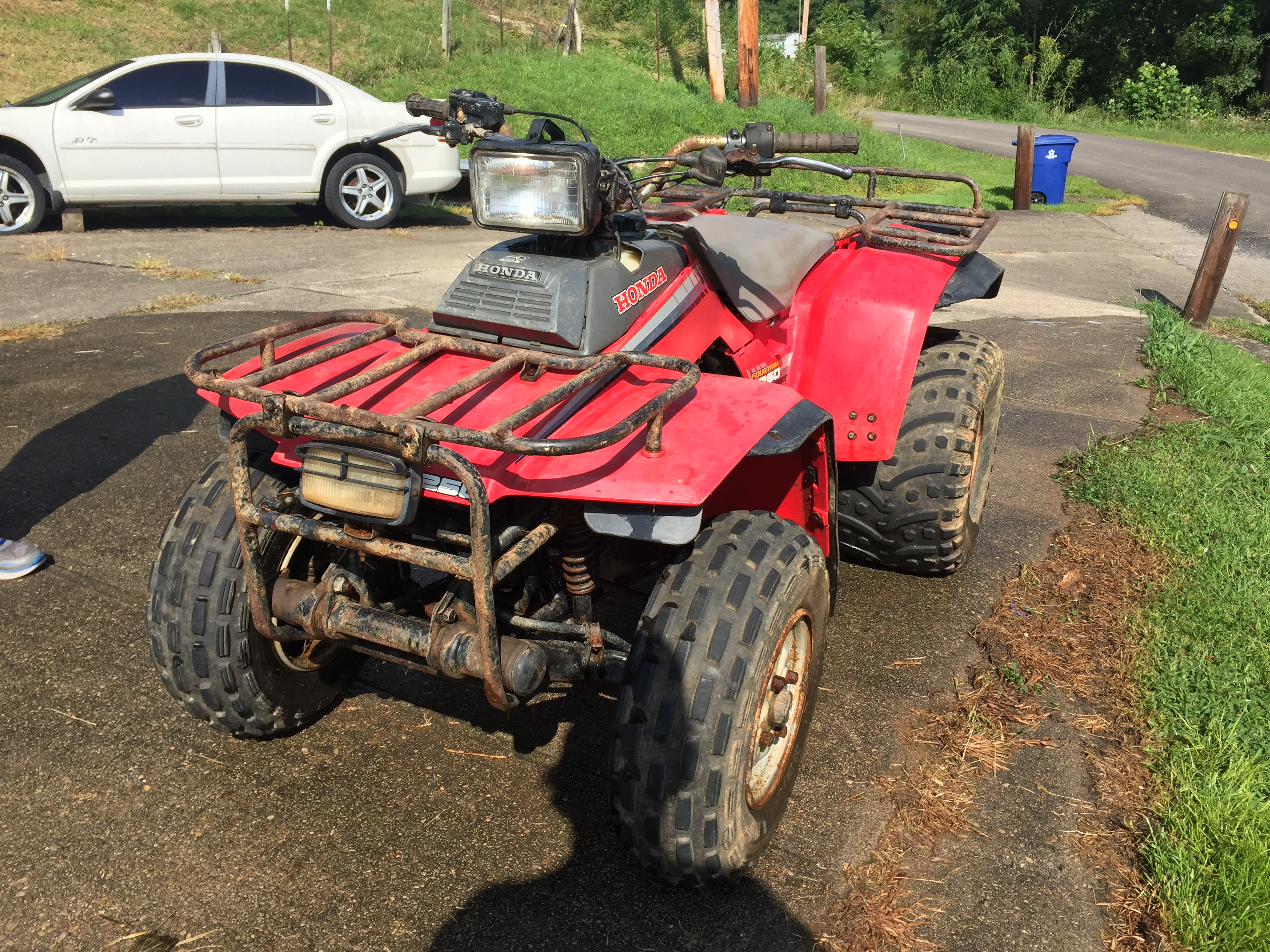 1986 honda fourtrax 250 - service manual needed