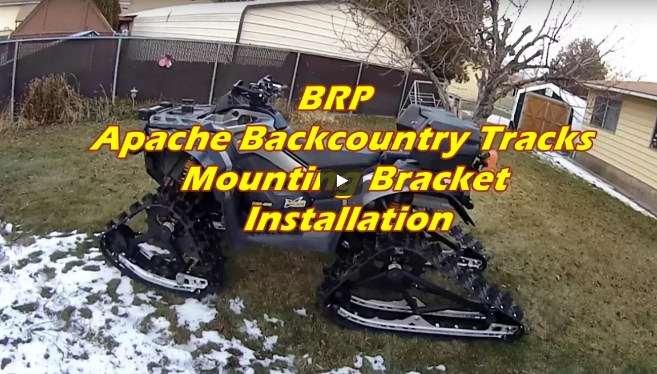 Backcountry Track Mounting Kit Install