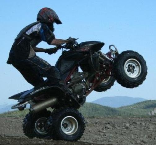 ATV Wheelie by Blahhhh