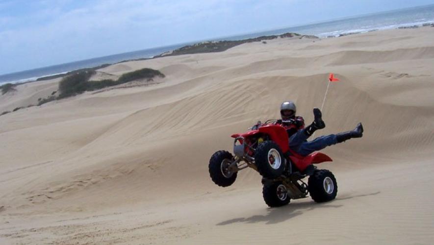 Pismo Beach ATV Wheelie