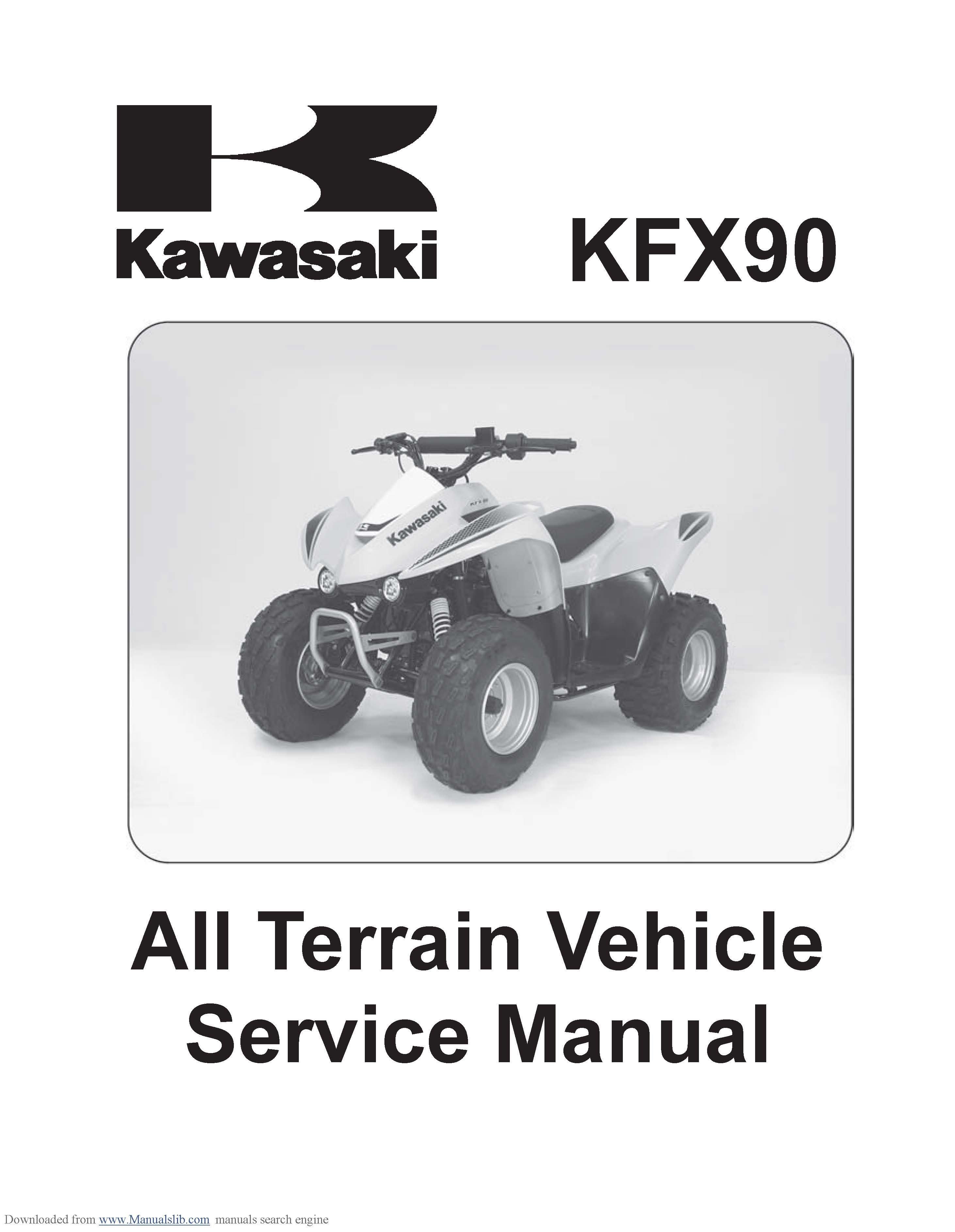 KFX-90 Service Manual 2007-2009