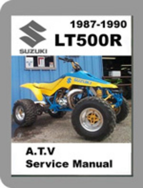1987-1990 Suzuki QuadRacer LT500R Quadzilla Service Manual