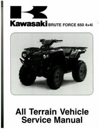 Brute Force 650i KVF-650i Service Manual 2006-2009