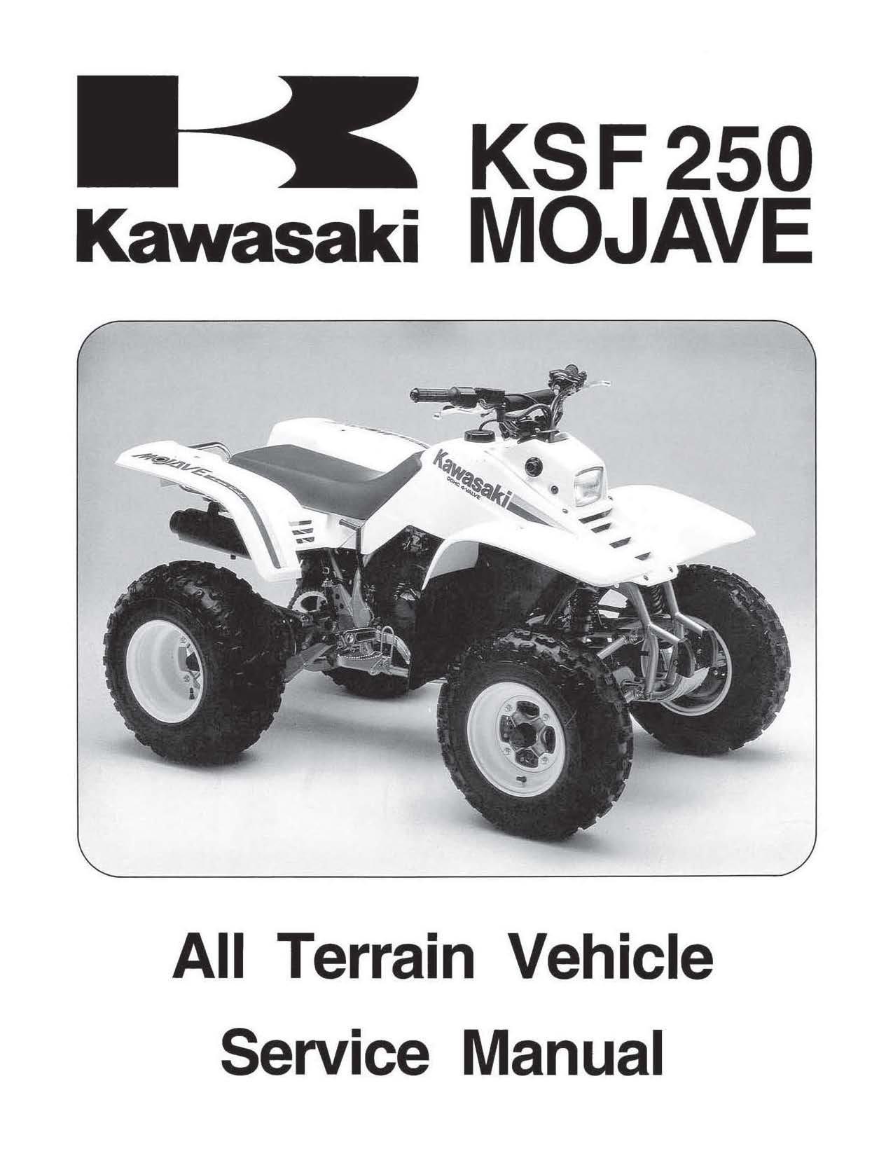 Kawasaki 250 Mojave 4 Wheeler Wiring Diagram | Wiring Liry on