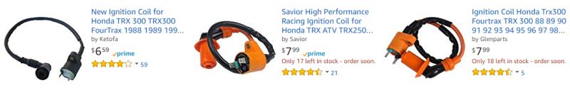 Honda TRX300 Ignition Coil
