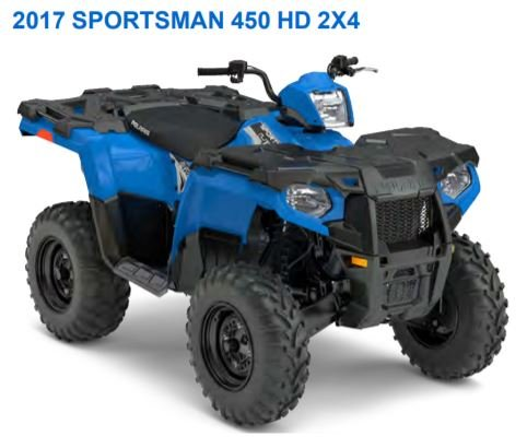 2017-2019 sportsman 450/570 with eps factory service manual
