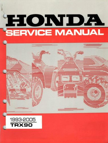 Screenshot for 1993-2005 Honda TRX90 Service Manual
