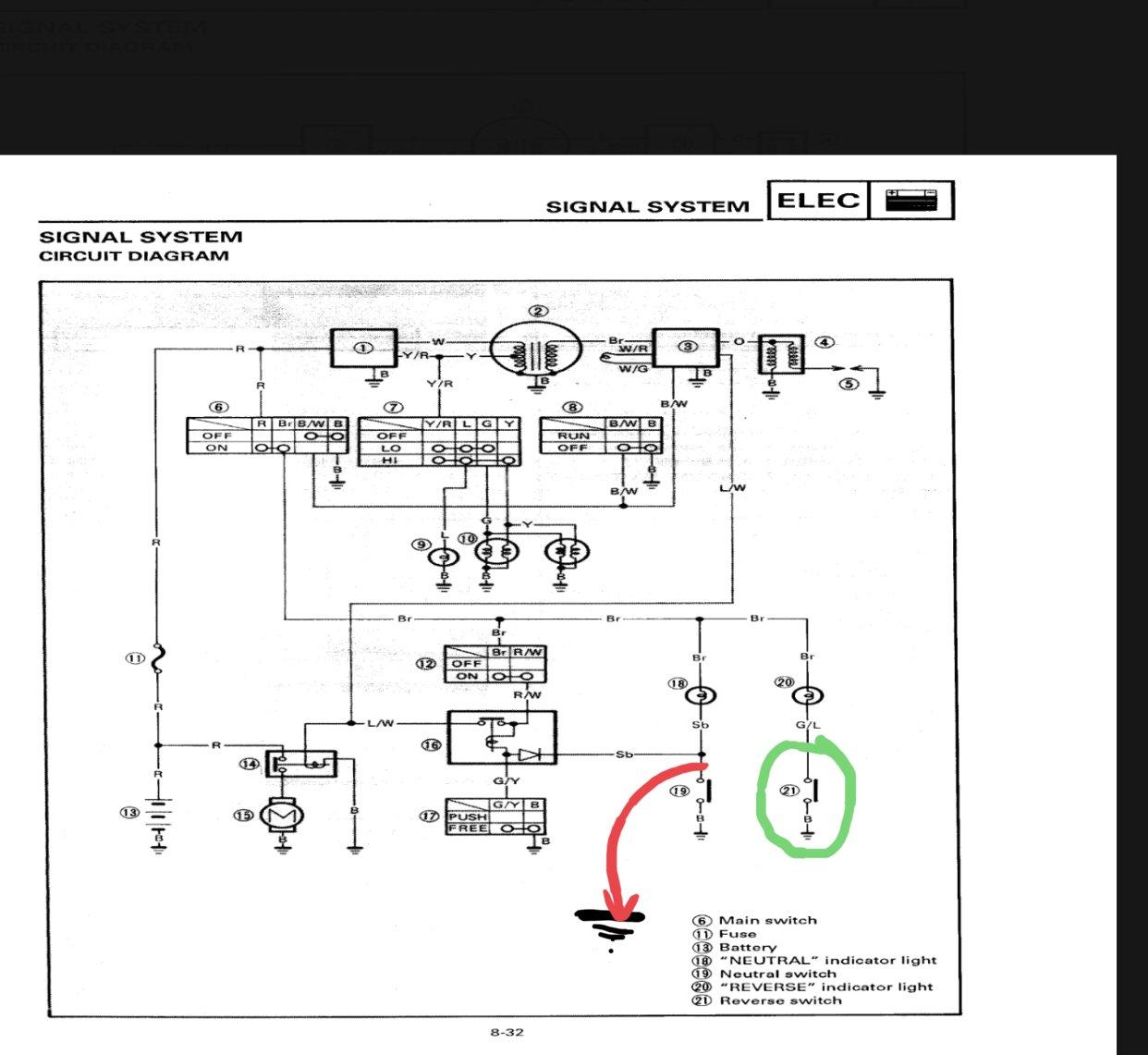 1994 Yamaha Timberwolf Wiring Diagram