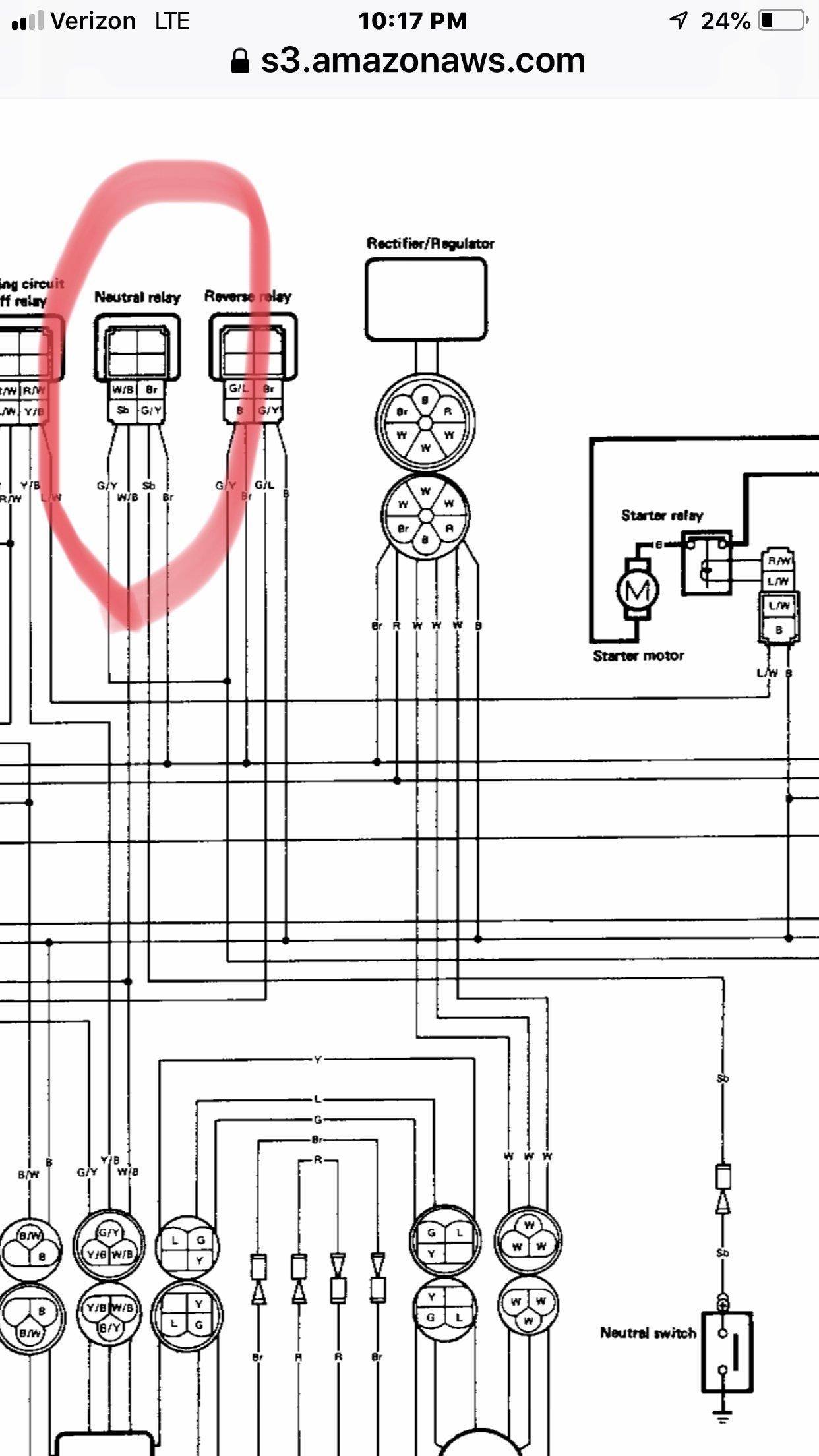 big bear 400 wiring diagram 96 big bear 4x4 no neutral light yamaha atv forum quadcrazy  96 big bear 4x4 no neutral light