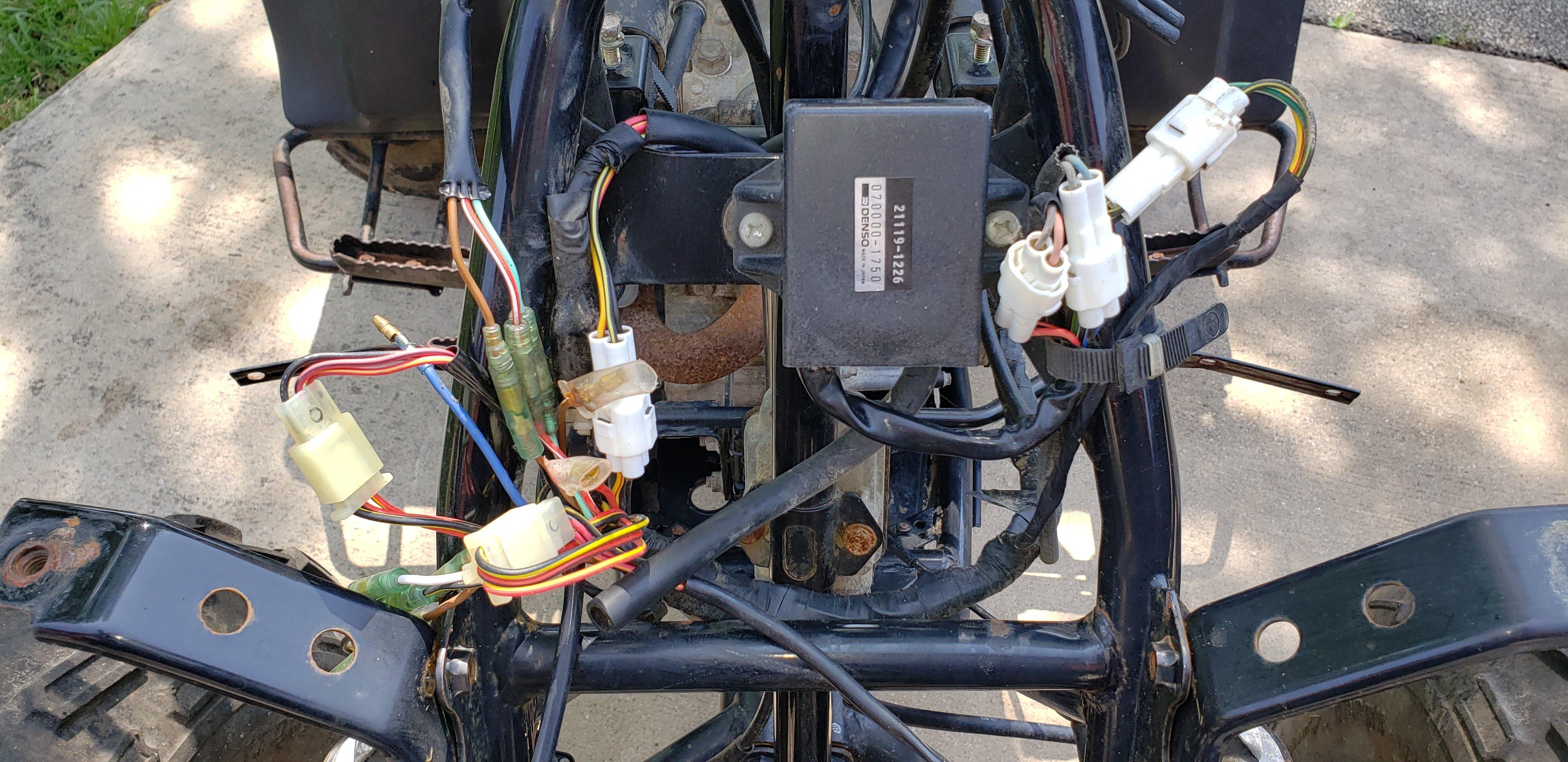 bayou 220 no power at ign. switch or coil, lights etc - kawasaki atv  forum - quadcrazy  quadcrazy