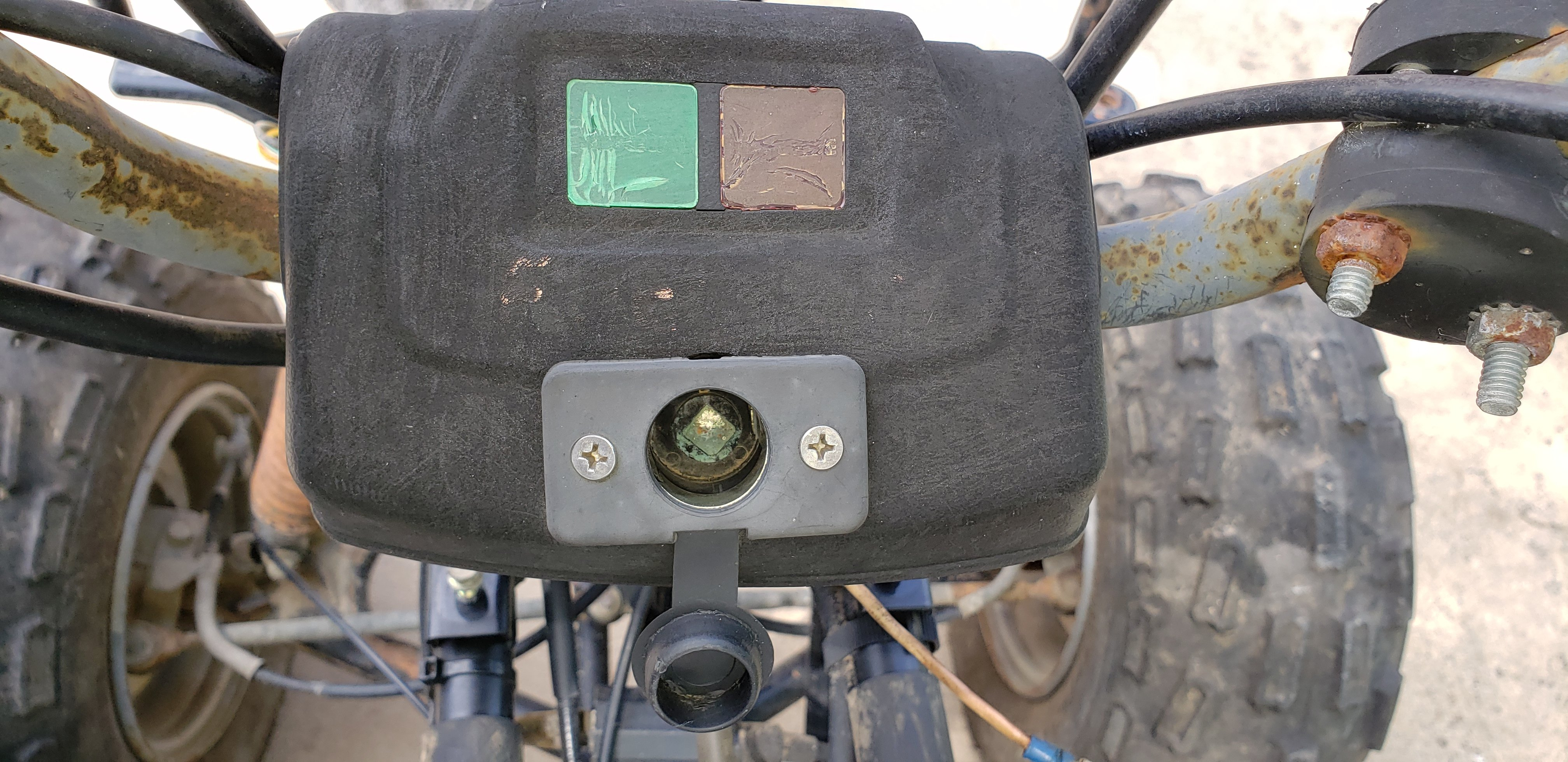 Bayou 220 no power at ign. switch or coil, lights etc ... on 1999 yamaha warrior 350 wiring diagram, 1999 yamaha banshee wiring diagram, 1999 yamaha big bear 350 wiring diagram, 1999 arctic cat 500 wiring diagram, 1999 honda trx 300 wiring diagram, 1999 yamaha kodiak 400 wiring diagram,