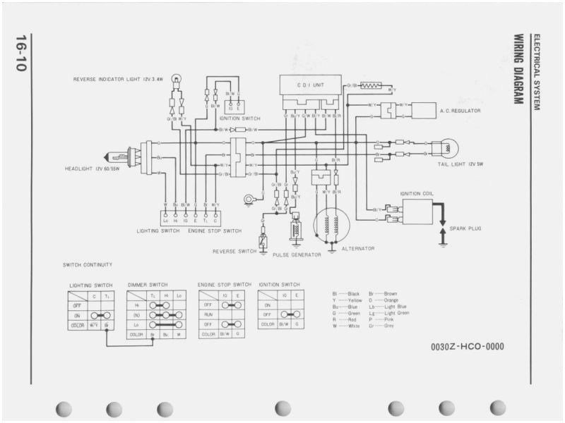 1985 - 1987 Honda Trx250 Service Manual