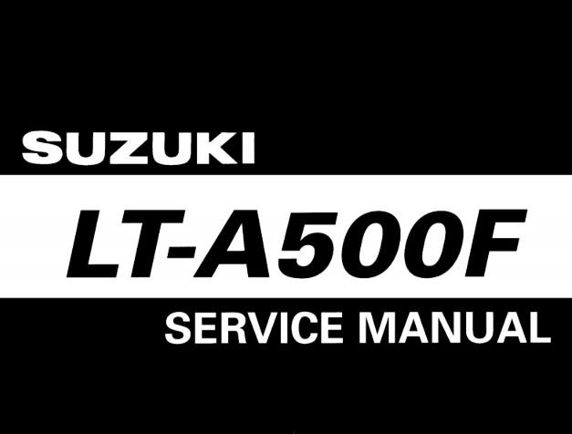 2000-2001 Suzuki Quadmaster 500 Service Manual