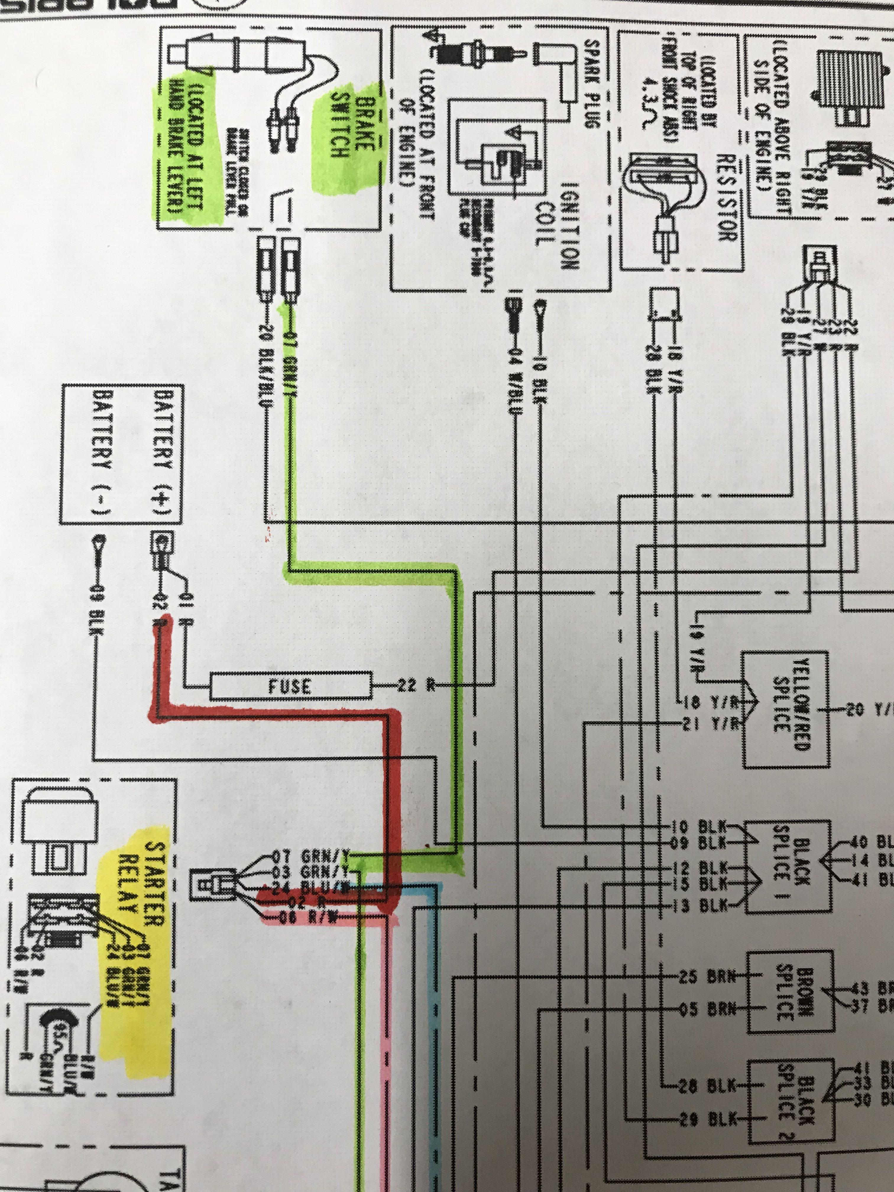 Wiring for my 2002 Polaris Scrambler 90 - Polaris ATV Forum - QUADCRAZY | Battery Cable Wiring Diagram Polaris Scrambler |  | QuadCRAZY