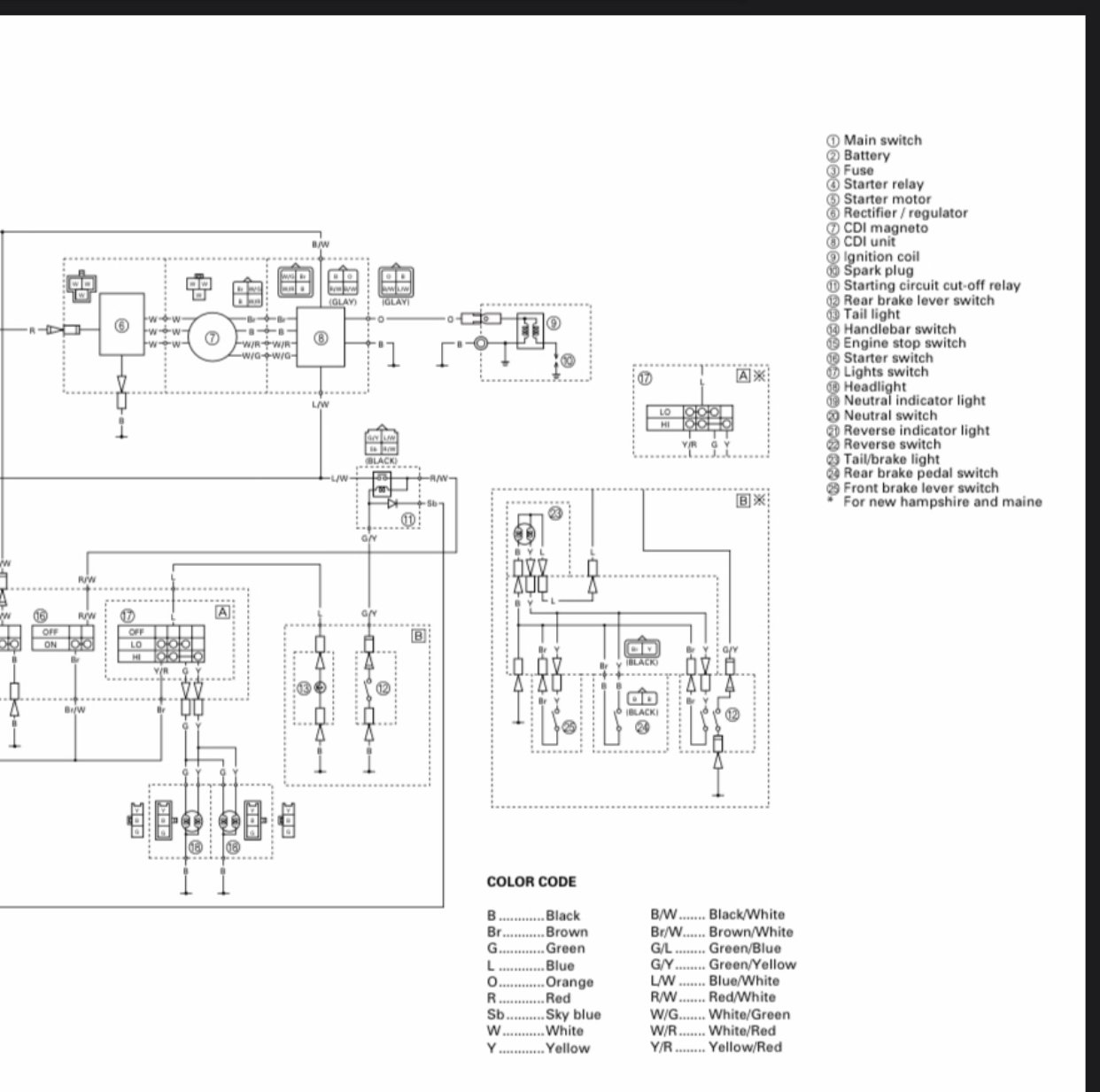 2001 Yamaha 250 Wiring Diagram - Wiring Diagram Recent lock-looting -  lock-looting.cosavedereanapoli.it | Bear Tracker Tail Light Wire Diagram 3 |  | lock-looting.cosavedereanapoli.it